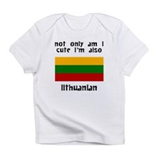 Cute And Lithuanian Infant T-Shirt