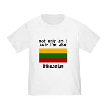 Cute And Lithuanian T-Shirt