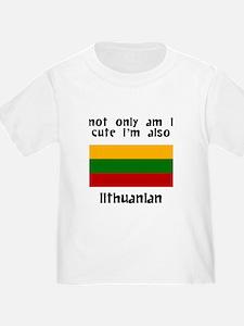Cute And Lithuanian T-Shirt