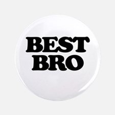 "Best Bro (Best Man) 3.5"" Button"