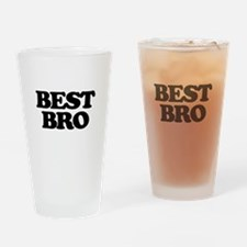 Best Bro (Best Man) Drinking Glass