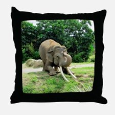 AWESOME ELEPHANT Throw Pillow