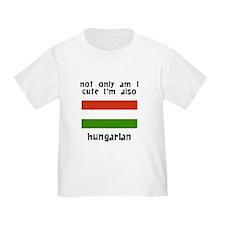 Cute And Hungarian T-Shirt