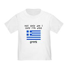 Cute And Greek T-Shirt
