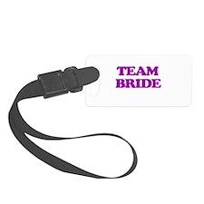 Team Bride Luggage Tag