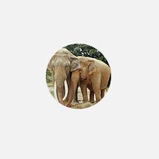 ELEPHANT LOVE Mini Button