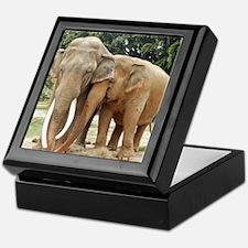 ELEPHANT LOVE Keepsake Box
