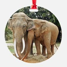 ELEPHANT LOVE Ornament