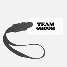 Team Groom Luggage Tag