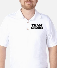 Team Groom Golf Shirt