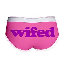 Wifed Women's Boy Brief