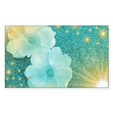 blume in mint Decal