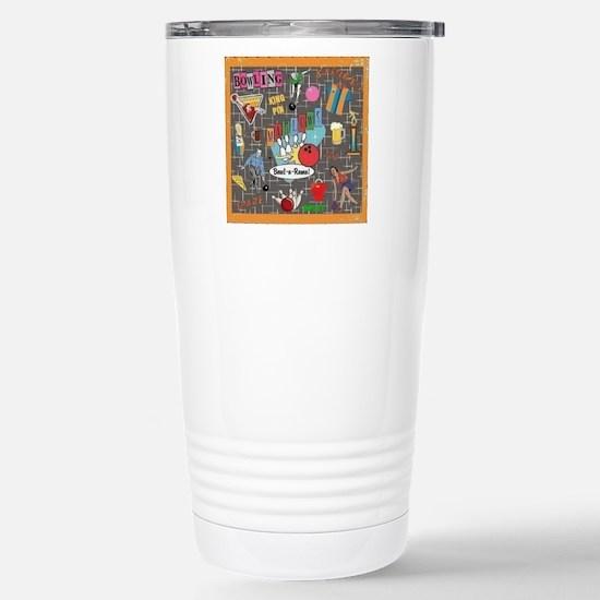Bowl-A-Rama Stainless Steel Travel Mug