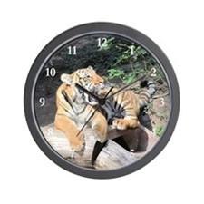 AWESOME TIGER Wall Clock