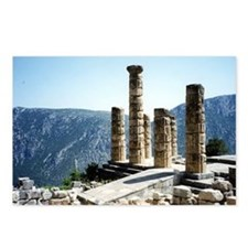 Oracle at Delphi Greece S Postcards (Package of 8)