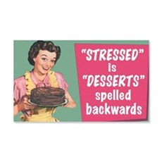Stressed Wall Sticker