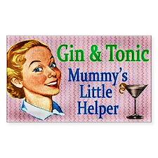 Gin & Tonic Decal