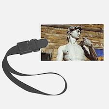 Michelangelo's David Statue Luggage Tag