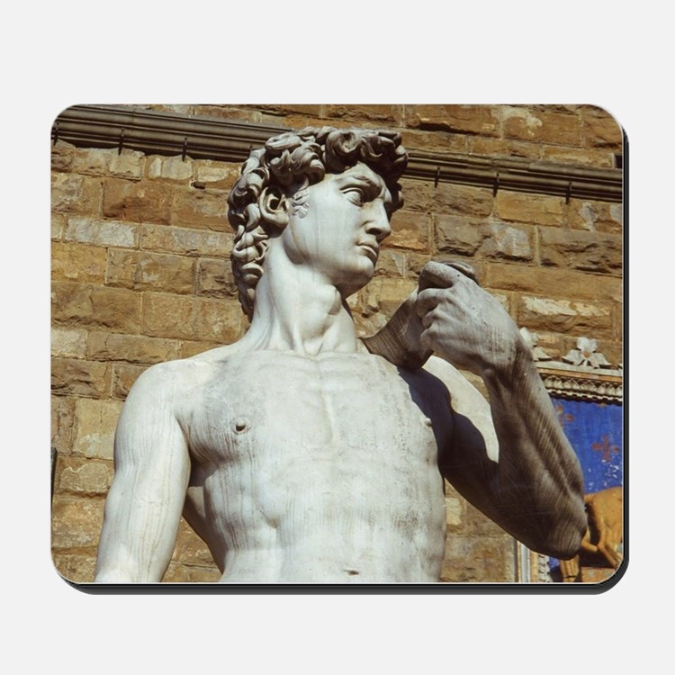 Michelangelo's David Statue Mousepad
