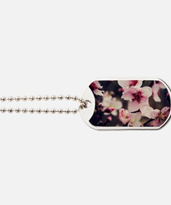 Cherry Blossoms Dog Tags