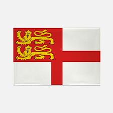 Island of Sark flag Rectangle Magnet (10 pack)