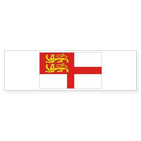 Island of Sark flag Bumper Sticker