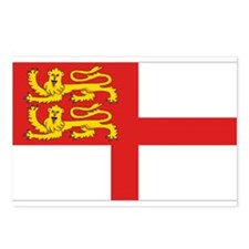 Island of Sark flag Postcards (Package of 8)