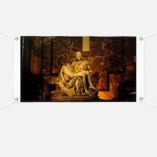 La Pieta Statue St Peter's Basilica Rome Banner