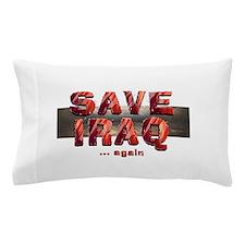 Save Iraq Pillow Case