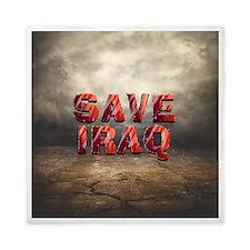 Save Iraq Queen Duvet