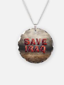 Save Iraq Necklace