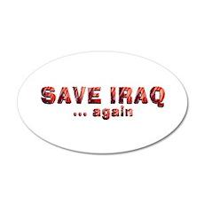 Save Iraq Wall Decal