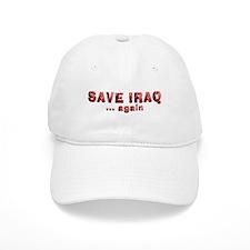 Save Iraq Baseball Cap