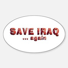 Save Iraq Decal