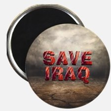 Save Iraq Magnet