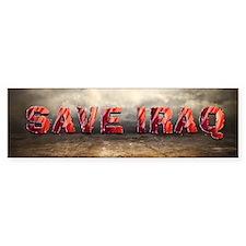 Save Iraq Bumper Sticker