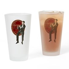 Rapp in Gennett label red.png Drinking Glass