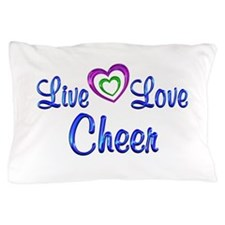 Live Love Cheer Pillow Case