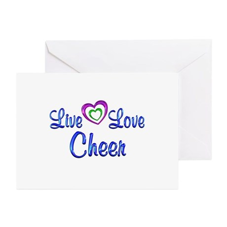 Live Love Cheer Greeting Cards (Pk of 10)