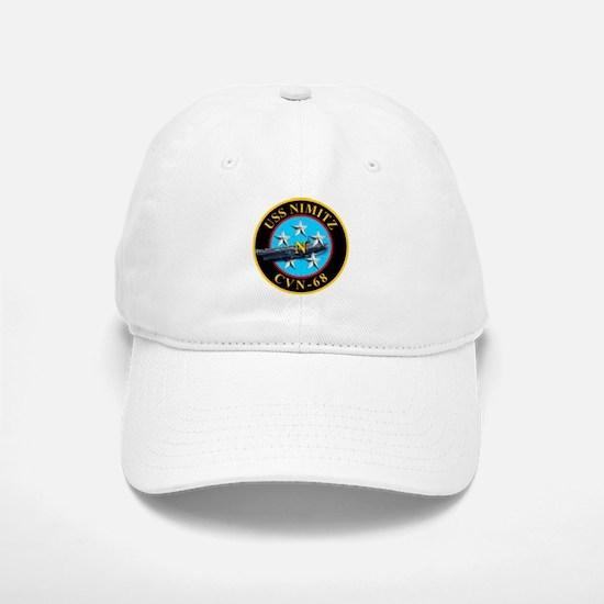 USS Nimitz CVN-68 Baseball Baseball Baseball Cap