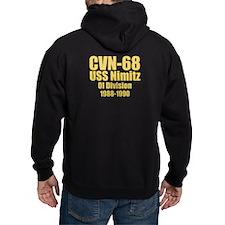 Personalized Uss Nimitz Cvn-68 Hoodie