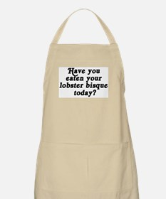 lobster bisque today BBQ Apron