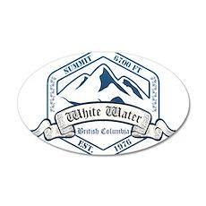 White Water Ski Resort British Columbia Wall Decal