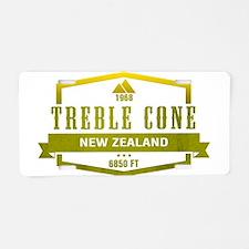 Treble Cone Ski Resort New Zealand Aluminum Licens