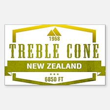 Treble Cone Ski Resort New Zealand Decal