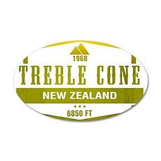 Treble Cone Ski Resort New Zealand Wall Decal