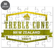 Treble Cone Ski Resort New Zealand Puzzle