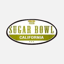 Sugar Bowl Ski Resort California Patches