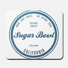 Sugar Bowl Ski Resort California Mousepad