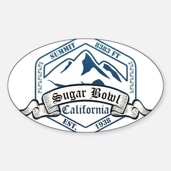 Sugar Bowl Ski Resort California Decal